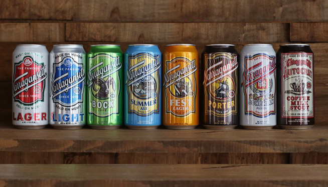 Narragansett Beer CEO on moving to RI, two new beers