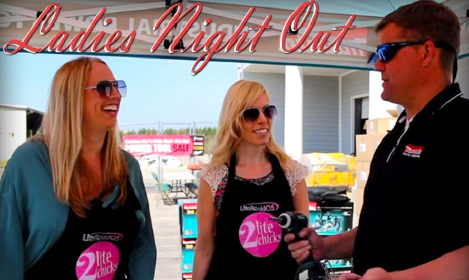 Ladies Night with Lite Rock 105's 2 Lite Chicks