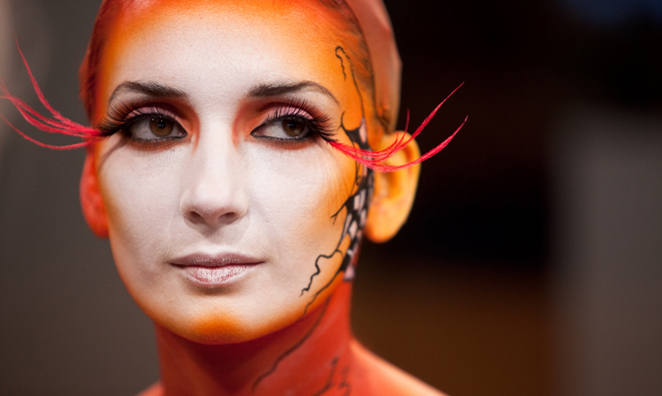 50+ Amazing Halloween Costumes Using Just Makeup