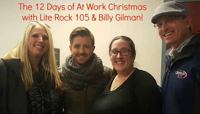 When Billy Gilman helped Heather & Steve surprise a listener at work! #12Days