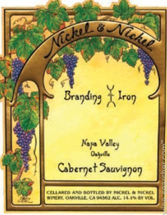 Wine Wednesday review Nickel & Nickel's Branding Iron Cabernet Sauvignon !