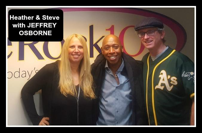 Want to enter a singing competition? Listen for details with Jeffrey Osborne and Heather & Steve