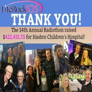 2018 Radiothon Donations Top $422,000 for Hasbro Children's Hospital