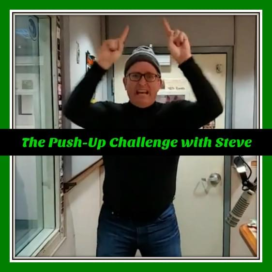 WATCH >> Steve's Push-up Challenge 2019