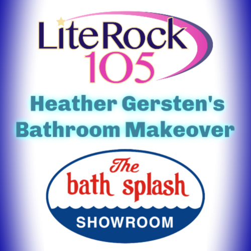 Lite Rock 105's Heather Gersten and the Bath Splash Showroom Makeover!