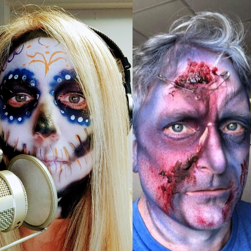 Heather & Steve get FRIGHT FEST scary!