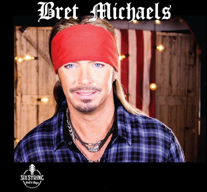 Bret Michaels on the WICKED AWESOME 80s SHOW