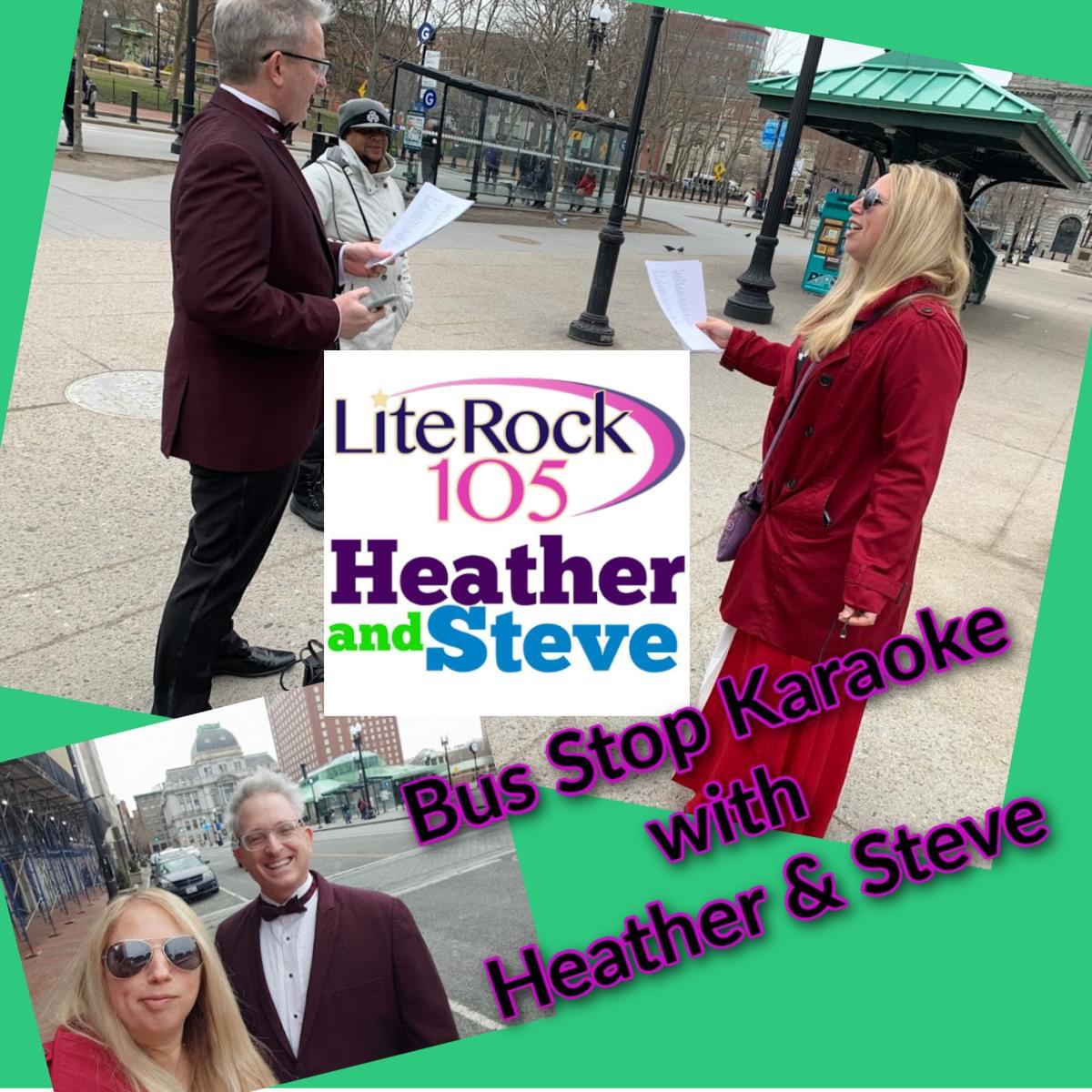 Heather & Steve's Bus Stop Karaoke
