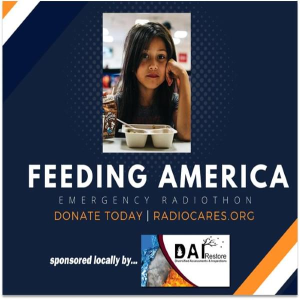 The Feeding America Emergency Radiothon, The RI Community Food Bank and Lite Rock 105's Heather & Steve