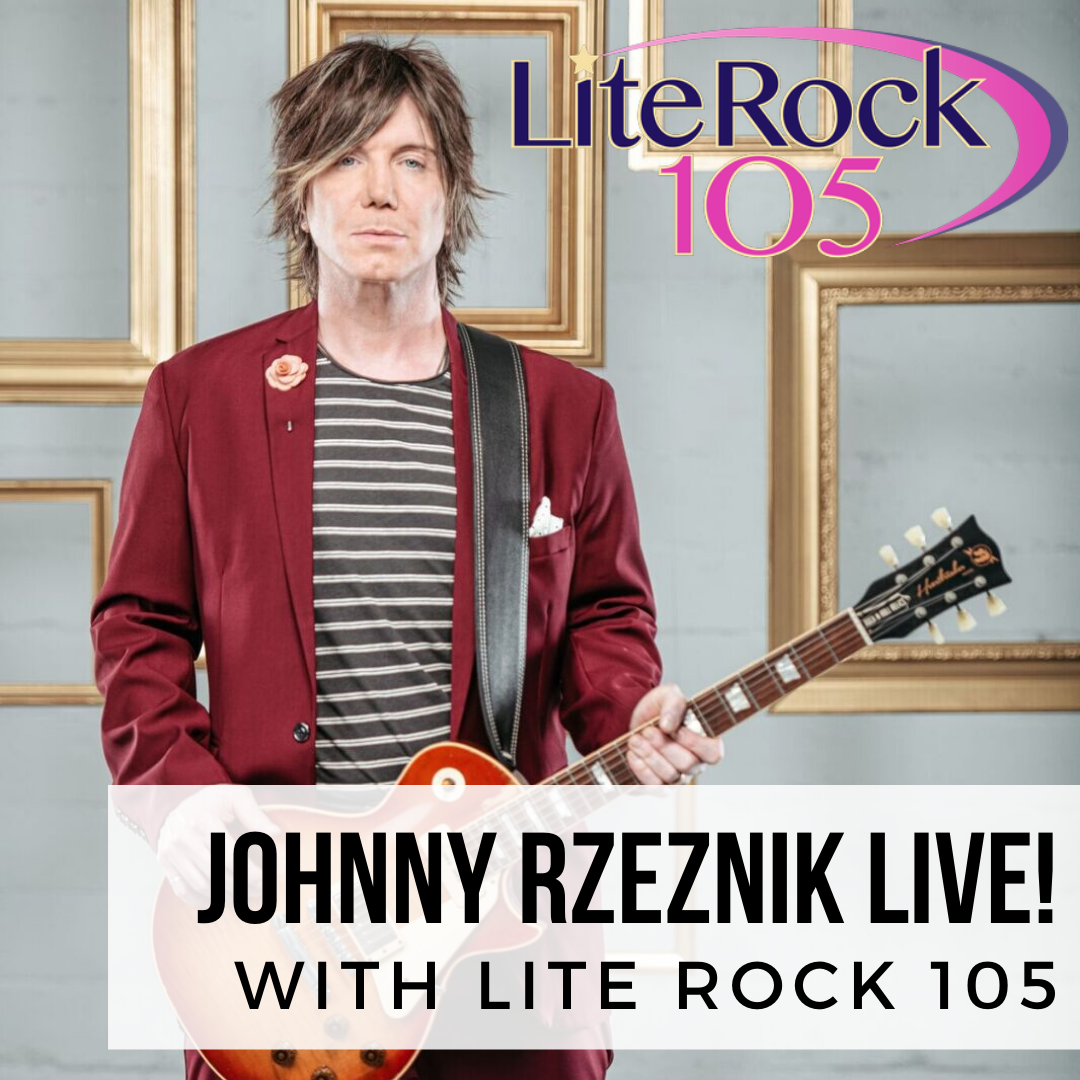 Johnny Rzeznik on Lite Rock 105's Facebook Live!
