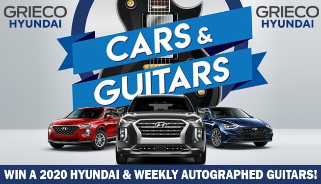 GRIECO Hyundai Presents…Cars & Guitars!