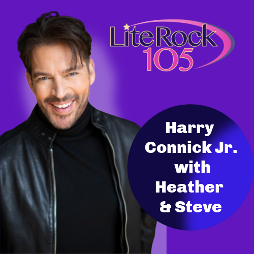 "Harry Connick Jr with ""Heather & Steve"""