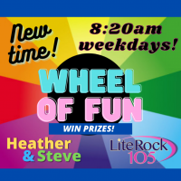 The WHEEL of FUN with Heather & Steve
