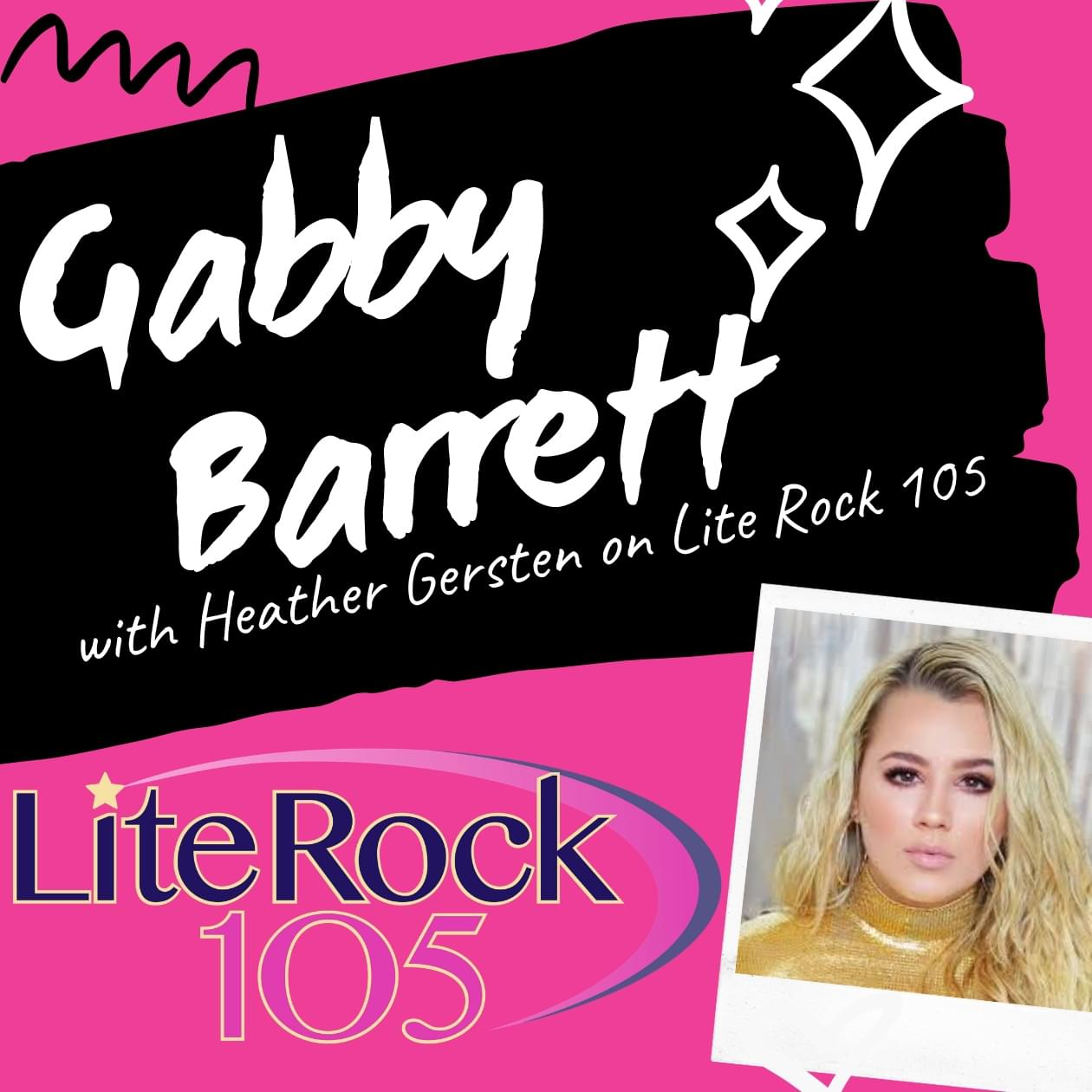 WATCH >> Gabby Barrett on Lite Rock 105 Zoom!