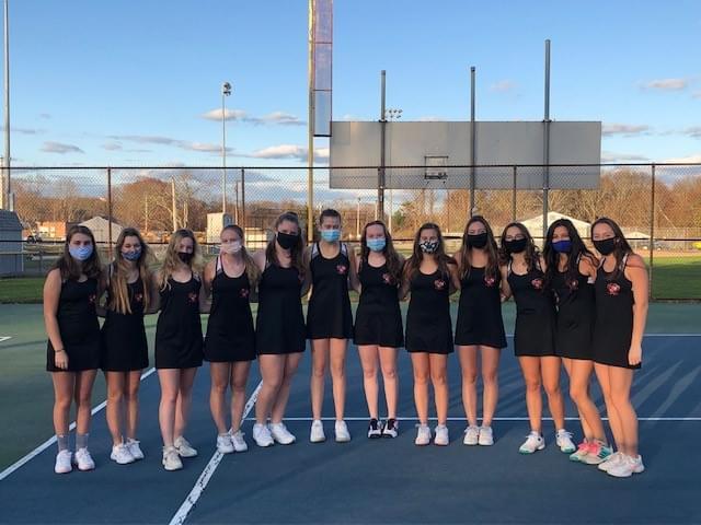 Narragansett Girls Varsity Tennis Team!