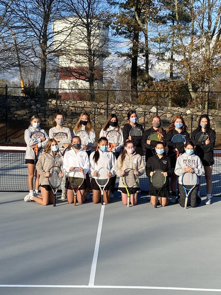 The Prout School Girl's Varsity Tennis