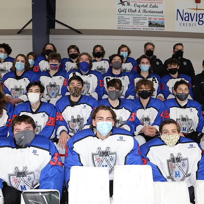 Rogers – Middletown – Rocky Hill Co-Op Ice Hockey Team
