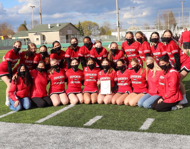 Coventry High School Cheerleaders