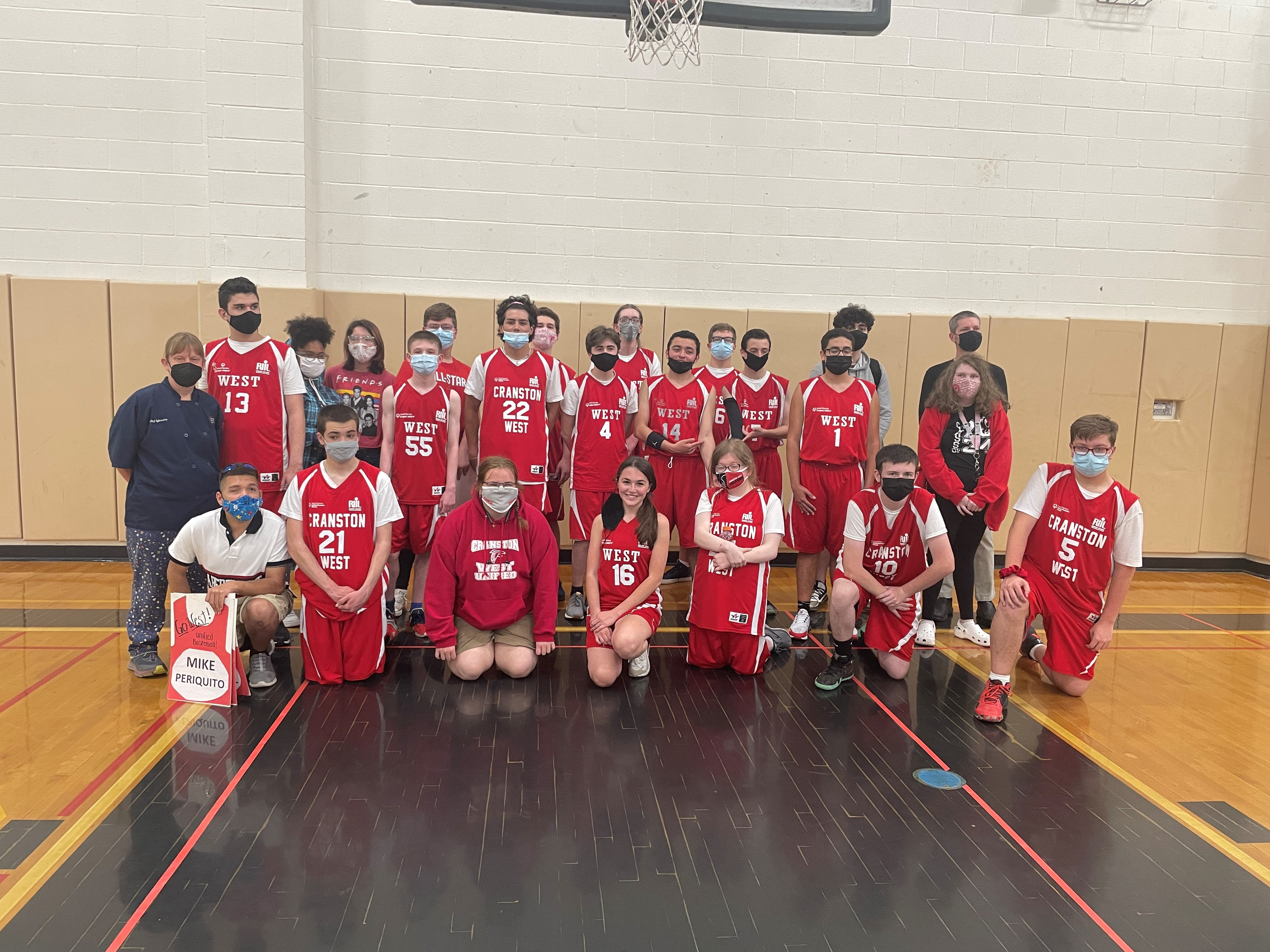 cranston west unified basketball team