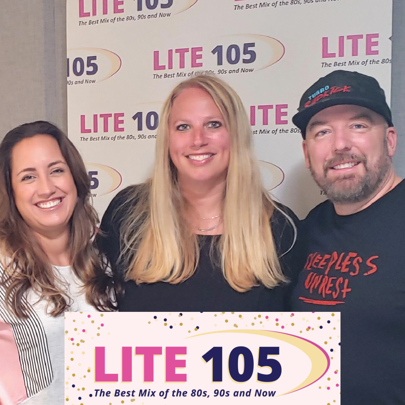 Kendall & Vera Whelpton from THE SLEEPLESS UNREST visit with Heather on Lite 105