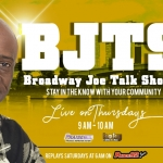 Broadway Joe Talk Show – February 27, 2020