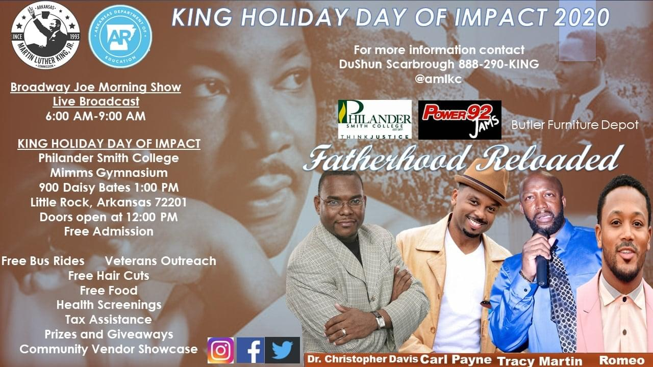 King Holiday Day of Impact 2020
