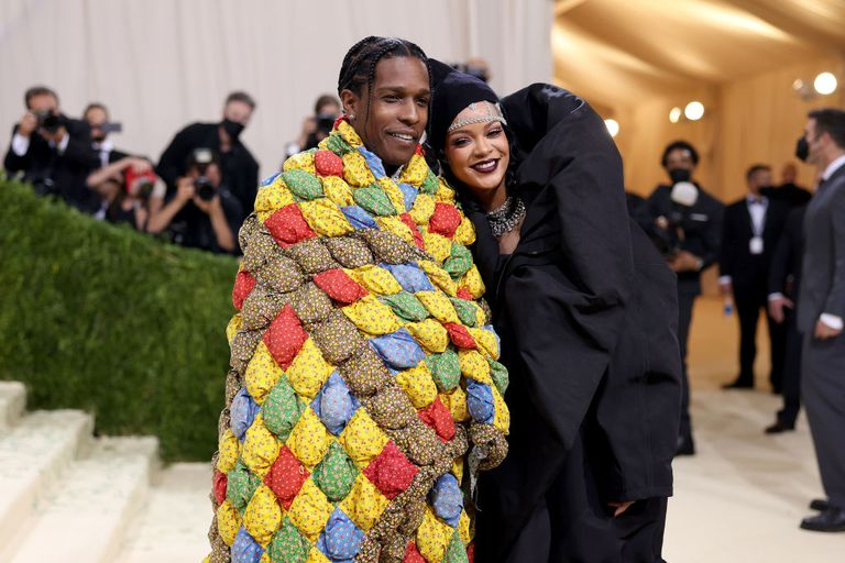 Rihanna And A$AP Rocky Are Style Queen And King Of The 2021 Met Gala