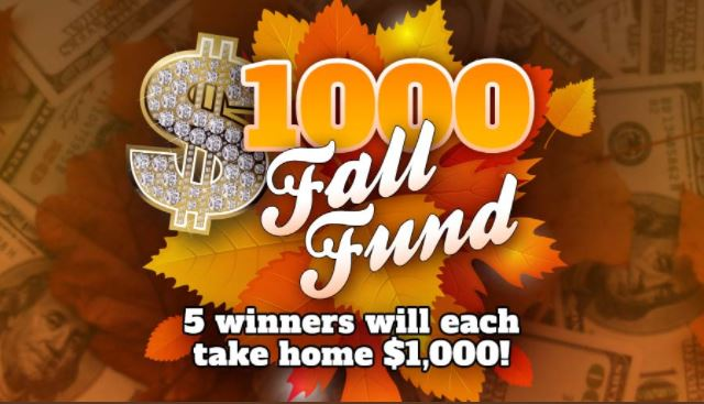 $1000 Fall Fund Contest