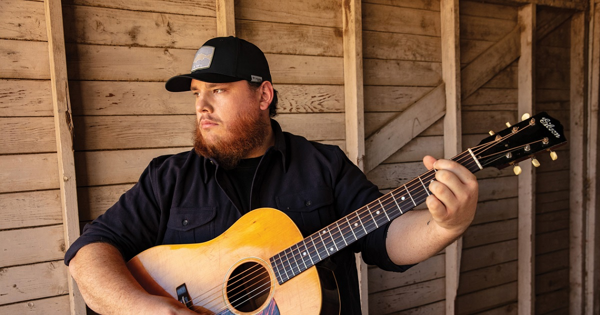 Luke Combs Says Singing Was Just Something that Made Him Happy