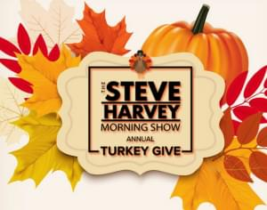 The Steve Harvey Morning Show Annual Turkey Give