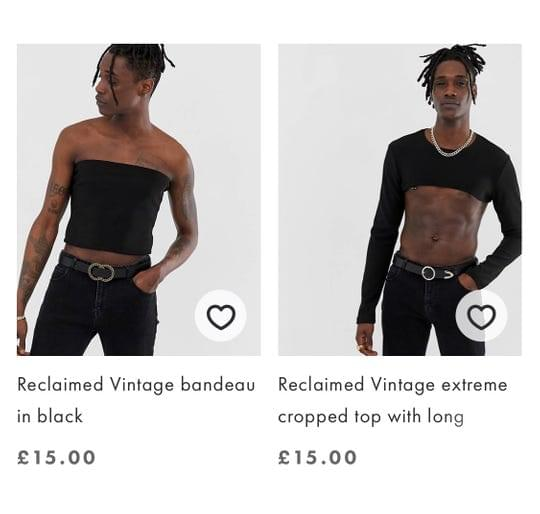 TUBE TOPS AND CROP TOPS ARE BACK WITH A CATCH