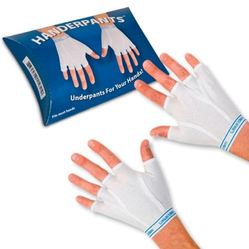 HANDERPANTS: TIGHTY WHITEYS FOR YOUR HANDS