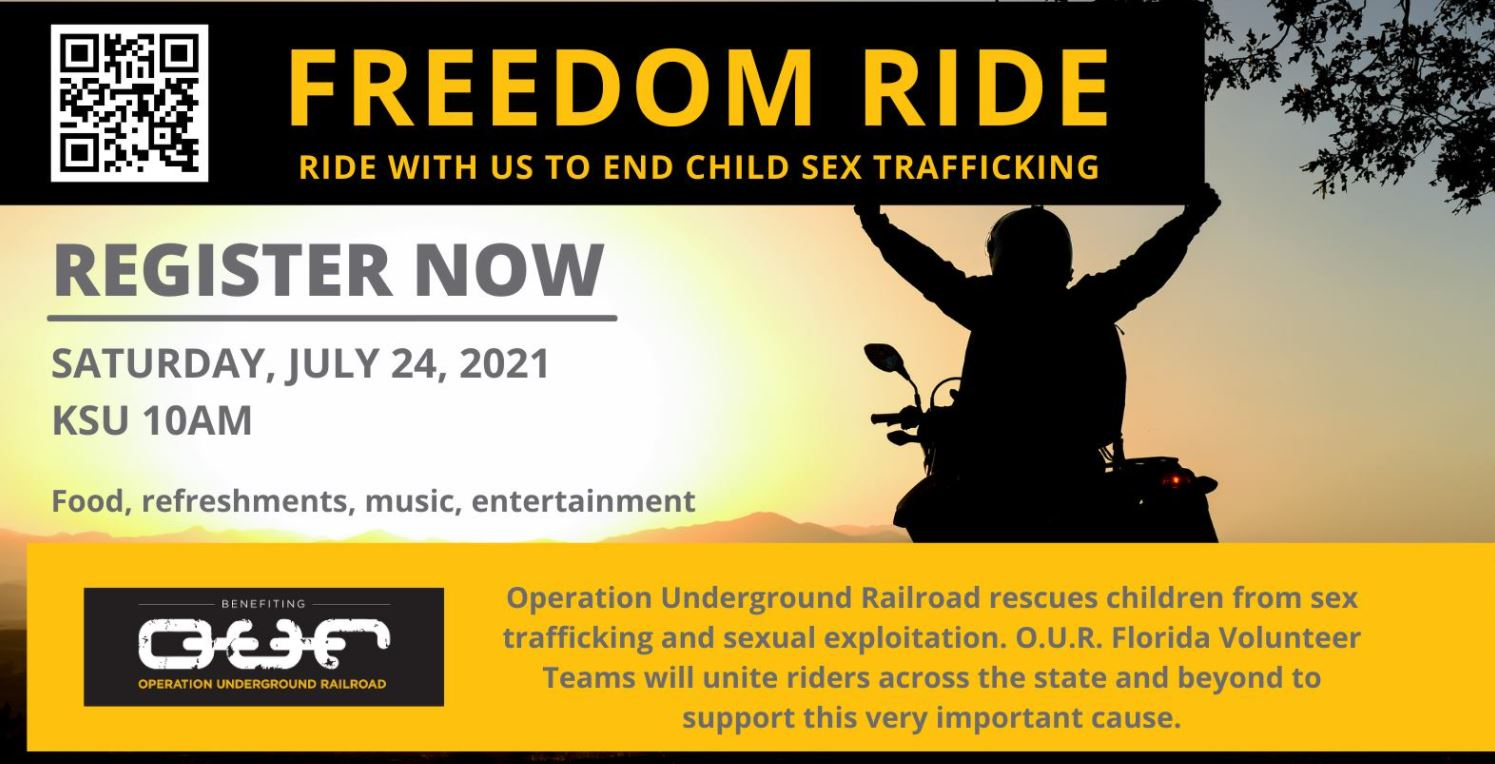 Join Operation Underground Railroad (O.U.R.) for FREEDOM RIDE!