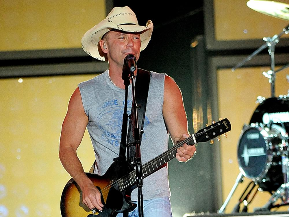 """Kenny Chesney Releases Savory New Single, """"Tip of My Tongue"""" [Listen]"""