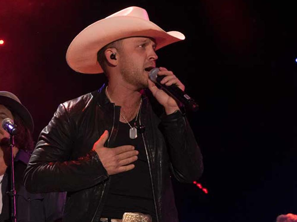 "Justin Moore Scores 8th No. 1 Single With ""The Ones That Didn't Make It Back Home"""