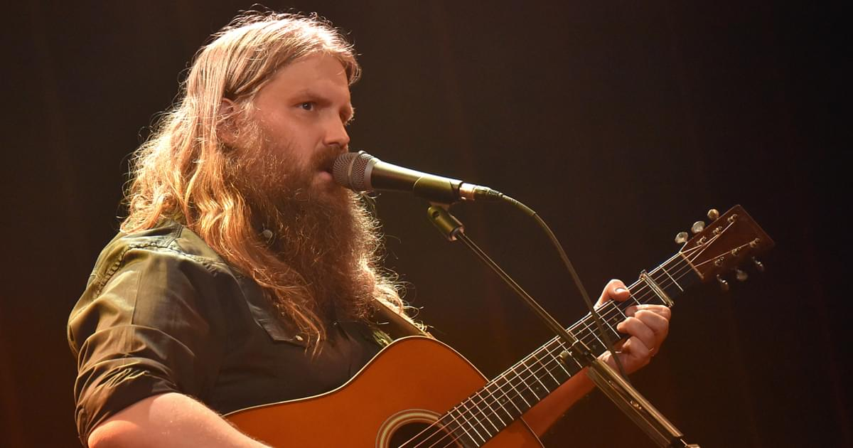 "Chris Stapleton Shares ""Cold"" New Song From Upcoming Album [Listen]"