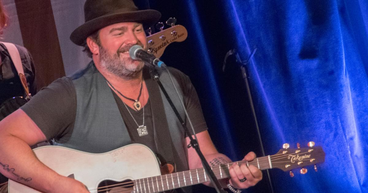Lee Brice Shares His World With You This Week