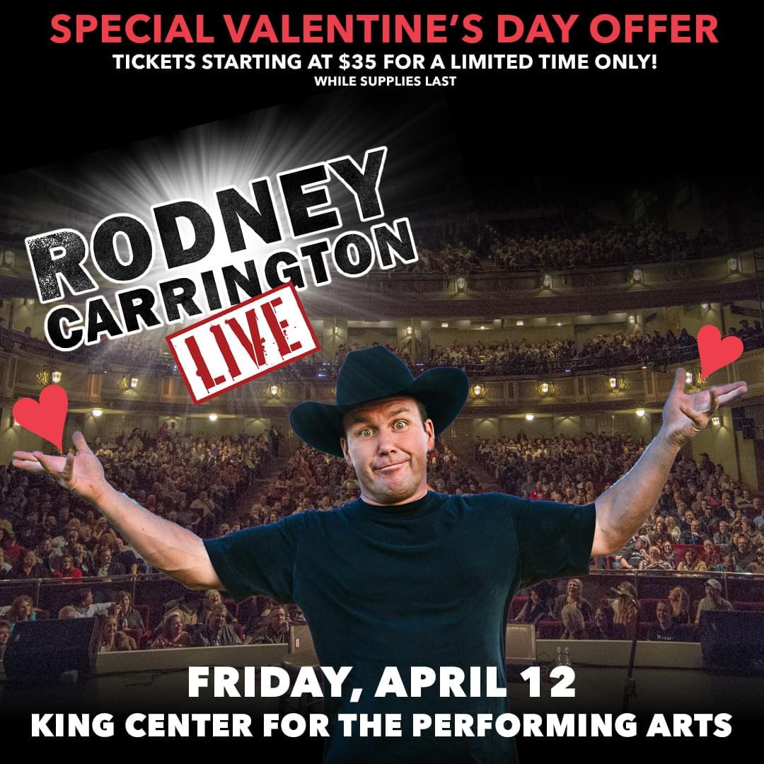 Win Rodney Carrington Tickets!!