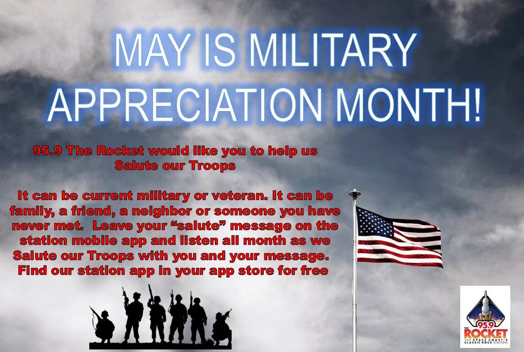 Military Appreciation Month