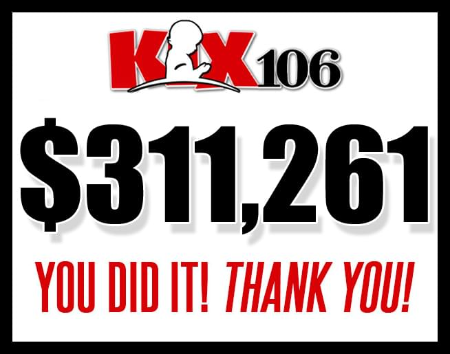 KIX 106 Country Cares for St. Jude Kids Radiothon 2018