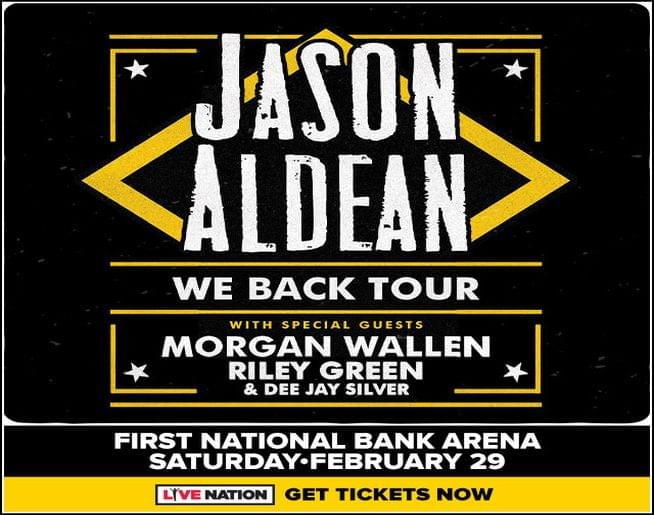 Jason Aldean – First National Bank Arena