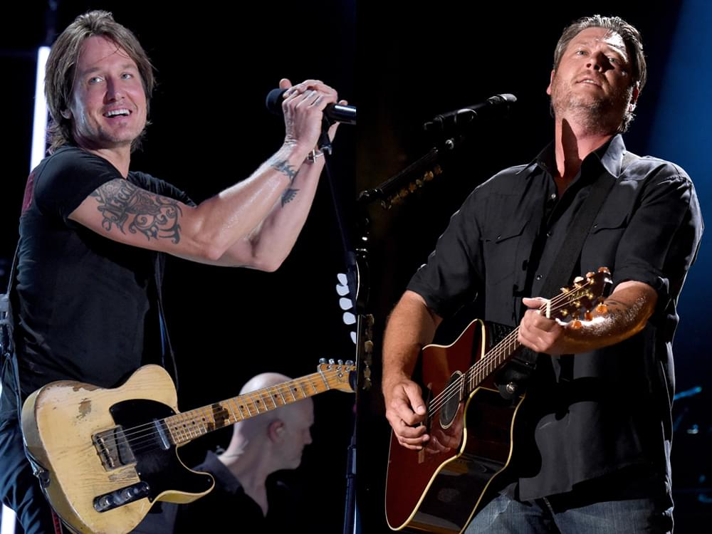 "Keith Urban, Blake Shelton, Luke Combs, Chris Stapleton & More to Perform at ""All for the Hall"" Benefit Concert"