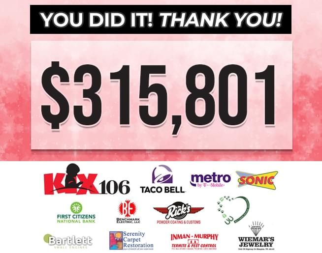 KIX 106 Country Cares for St. Jude Kids Radiothon – 2019