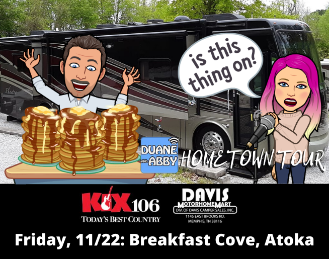DNA Hometown Tour: Atoka, 11/22!