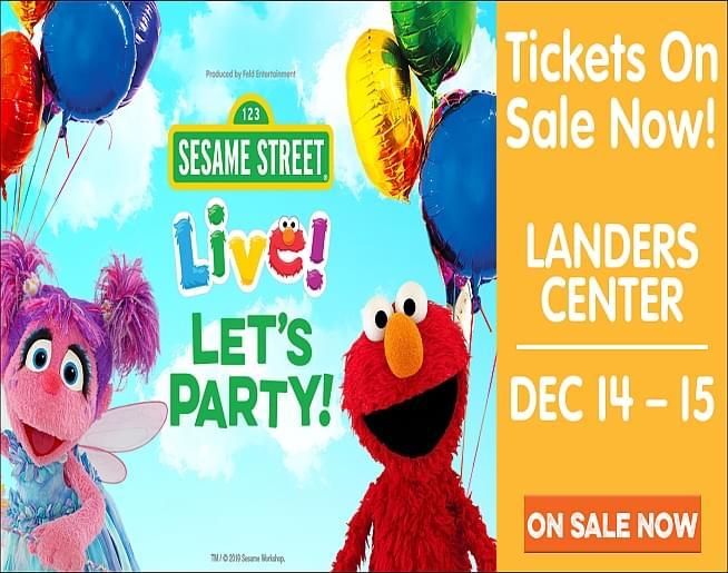 Sesame Street Live! – Landers Center