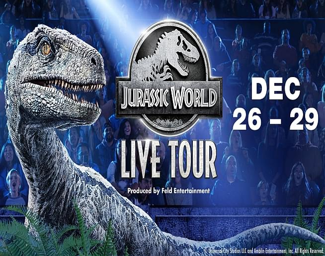 Jurassic World Live Tour – Landers Center
