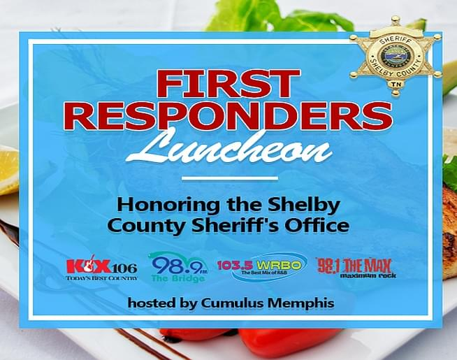 First Responders Luncheon 2020 – Honoring the Shelby County Sheriff's Department