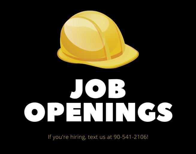 Local Job Openings