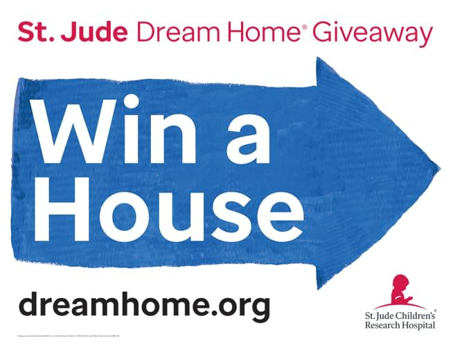 St. Jude Dream Home Giveaway 2020