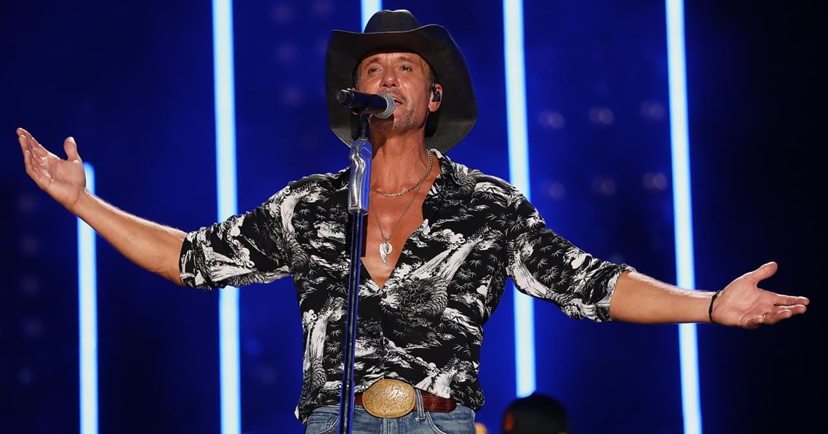 Tim McGraw to Celebrate Album Release With Live-Stream Event on Aug. 21